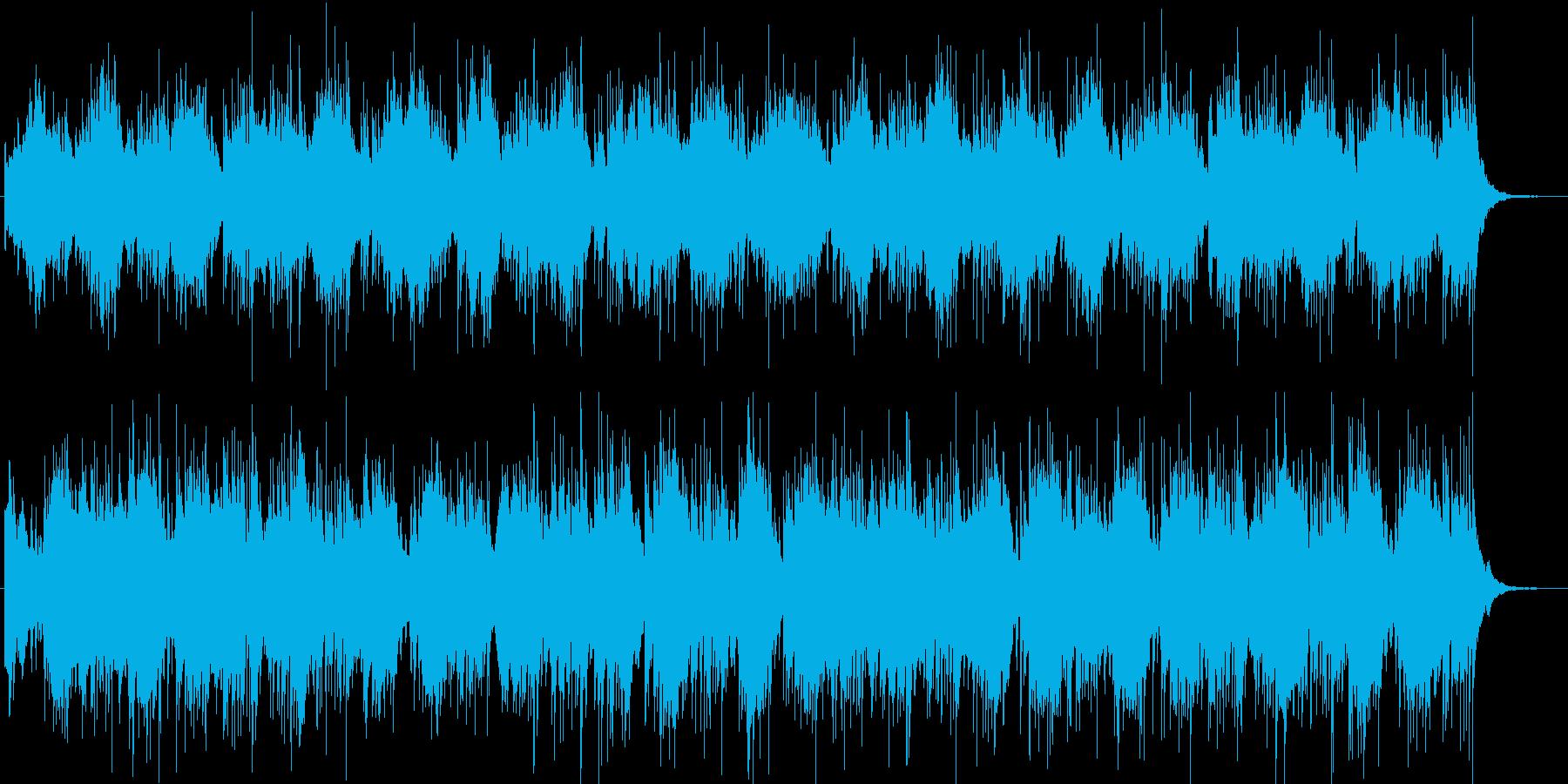 麻薬による幻覚作用の再生済みの波形