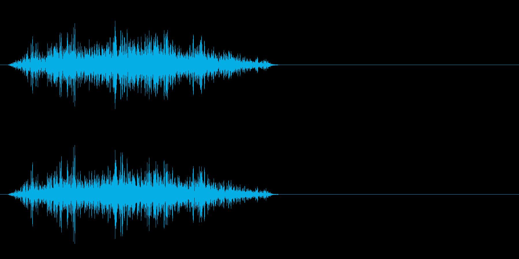 モンスター発声 3の再生済みの波形