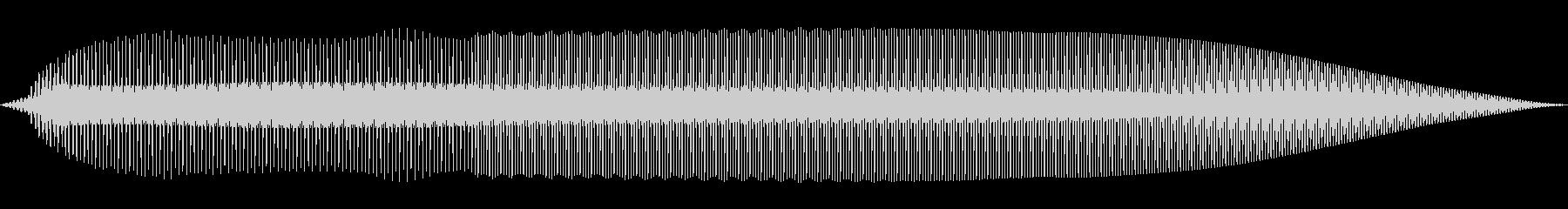 ピコッ(機械/ロボット/ボタン)の未再生の波形