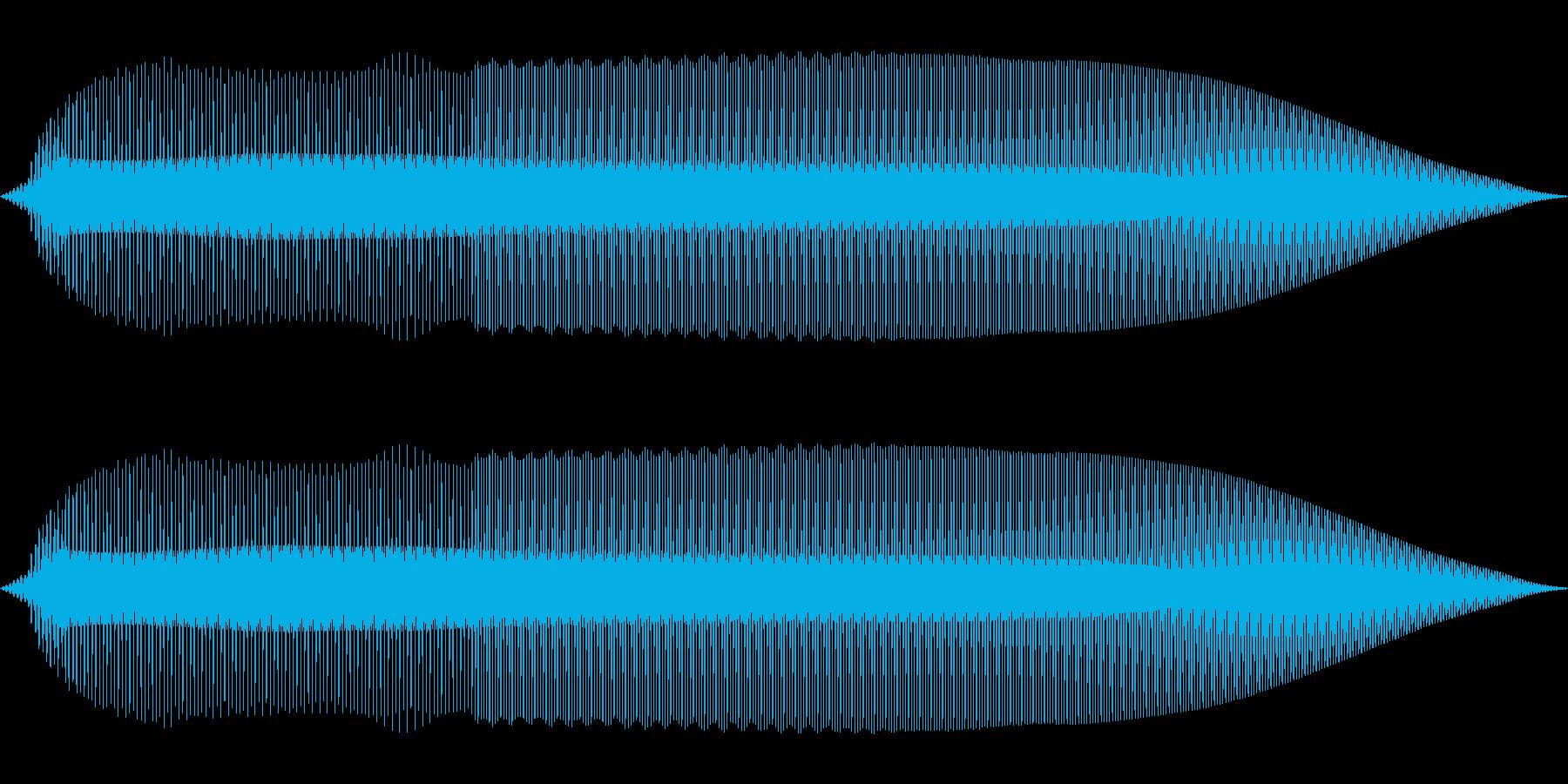 ピコッ(機械/ロボット/ボタン)の再生済みの波形