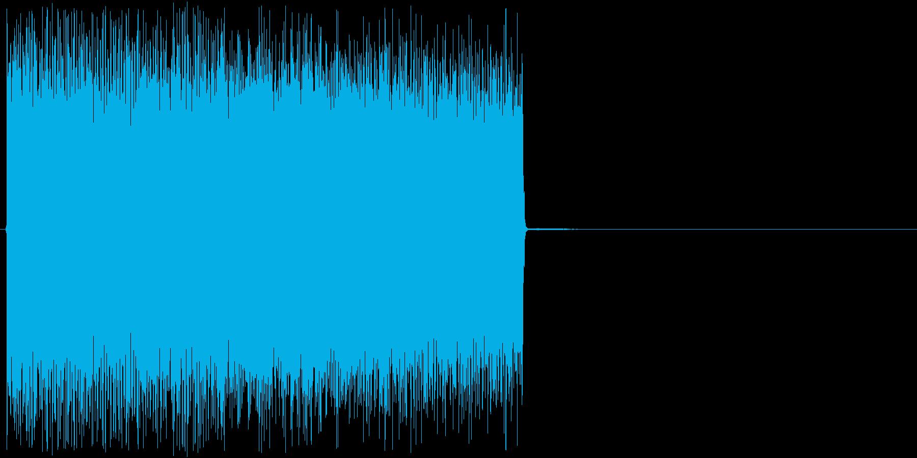防衛装置のレーザー攻撃のようなSE_1の再生済みの波形