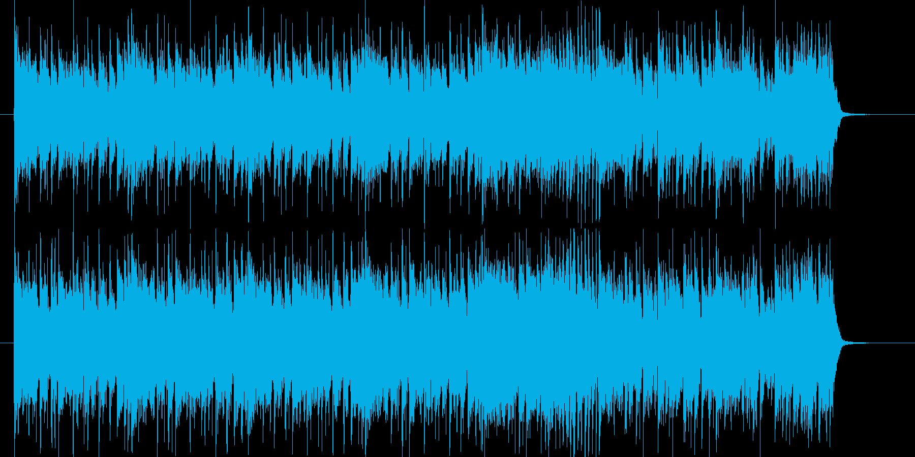 スタイリッシュでシャープなポップスの再生済みの波形