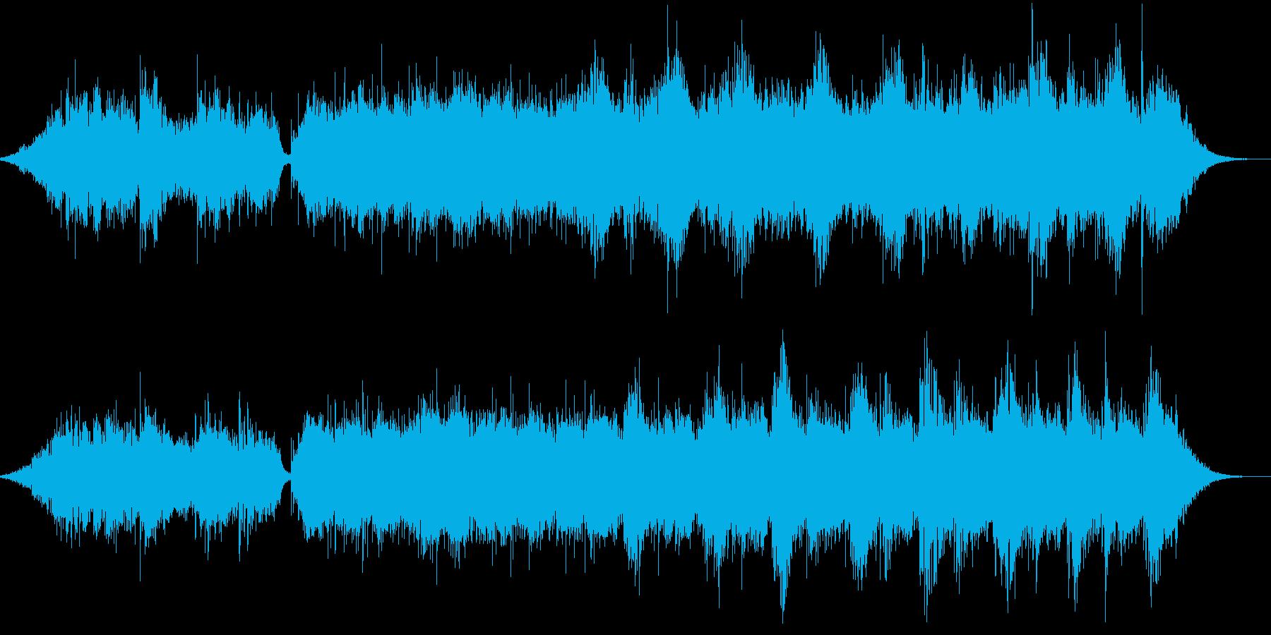 ファンタジー的なドリーム感のある曲です。の再生済みの波形