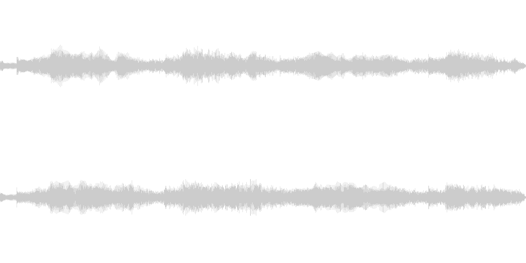 【ギター】雄大 大地【ループ】の未再生の波形