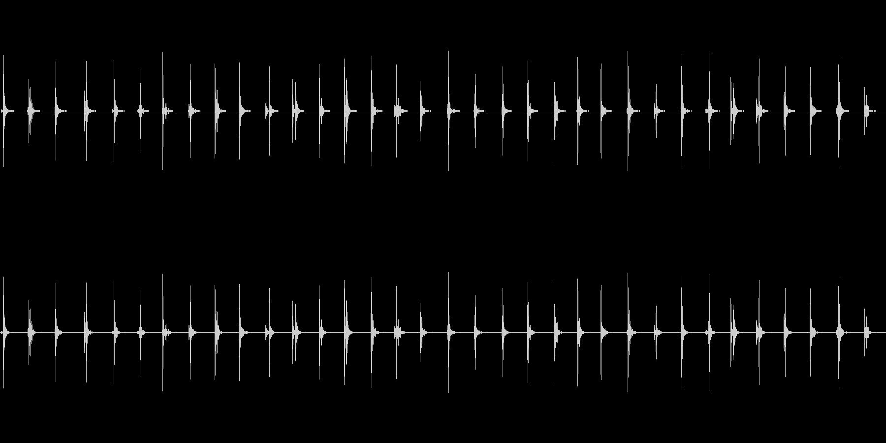 【足音02-2L】の未再生の波形