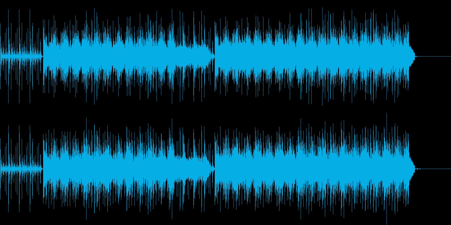 和太鼓が印象的なエネルギッシュなテクノの再生済みの波形