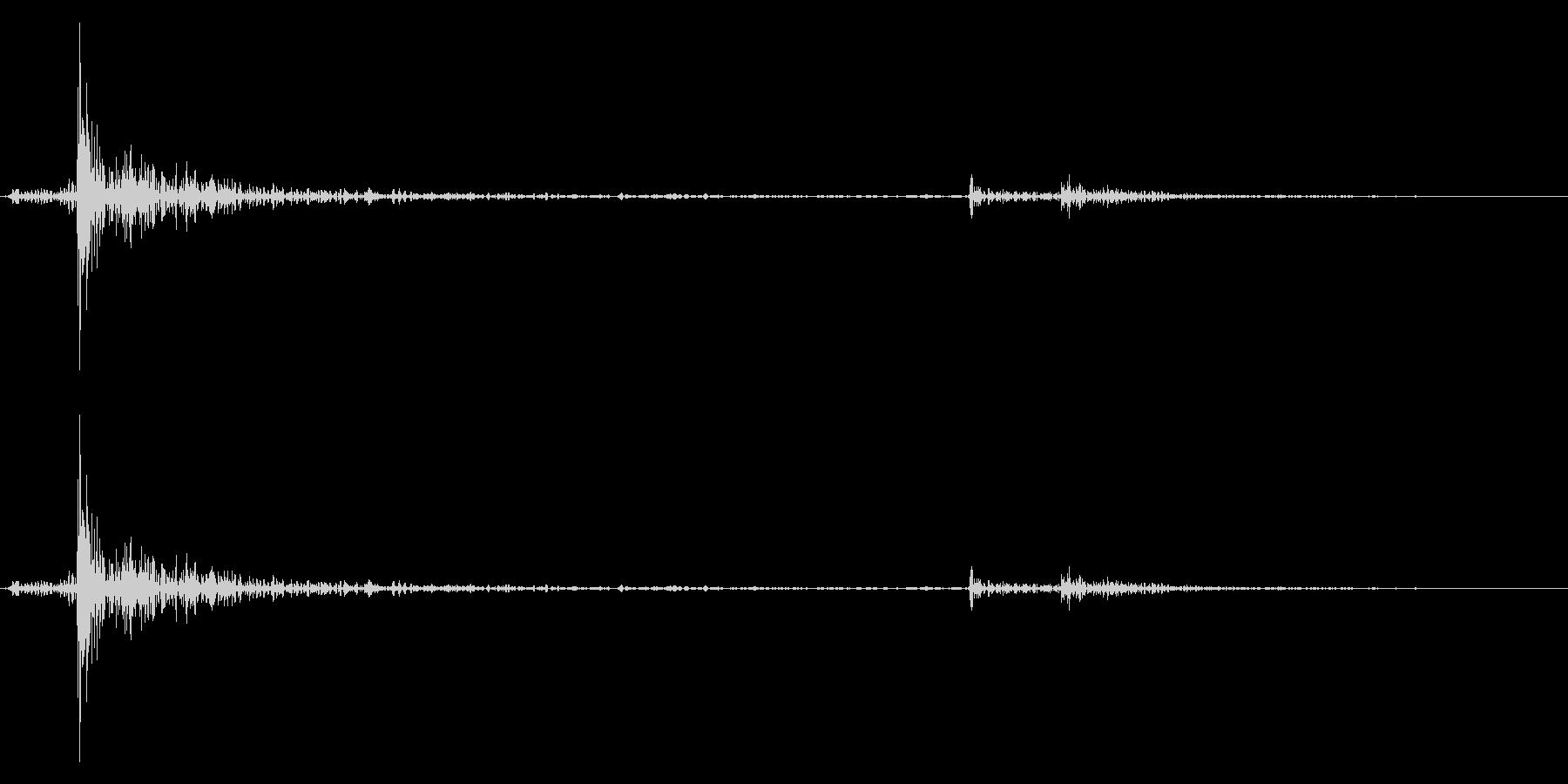 カーソル移動音6の未再生の波形