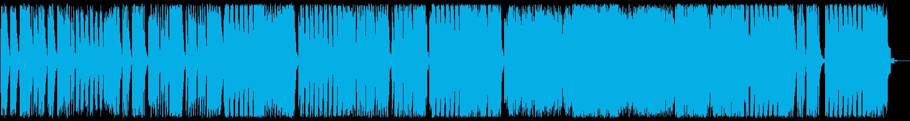 緩やかで軽快なワルツ風コーラスサウンドの再生済みの波形