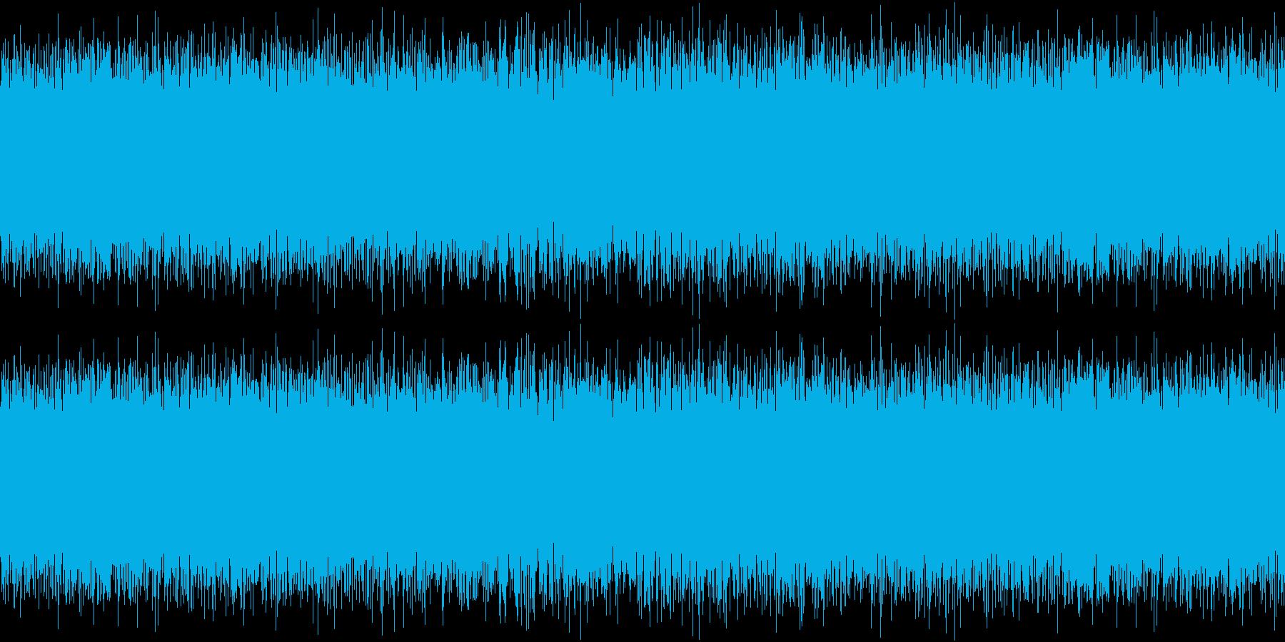 SunaArashi TVの砂嵐 3の再生済みの波形