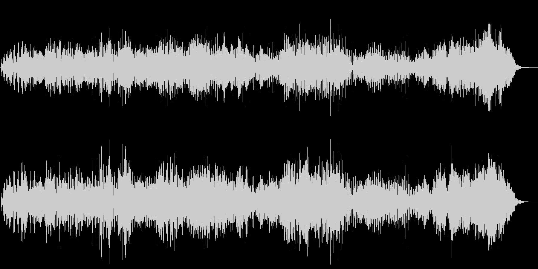 リズミカル 水 キラキラ ■ ピアノソロの未再生の波形