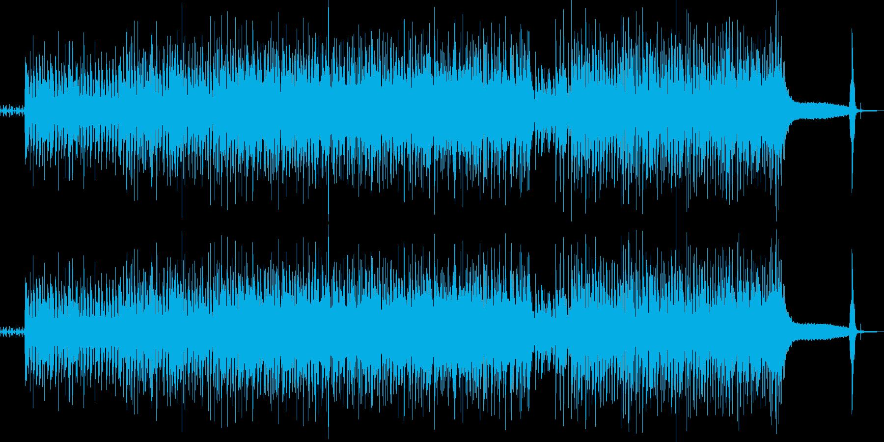 明るいFunkな曲です。の再生済みの波形