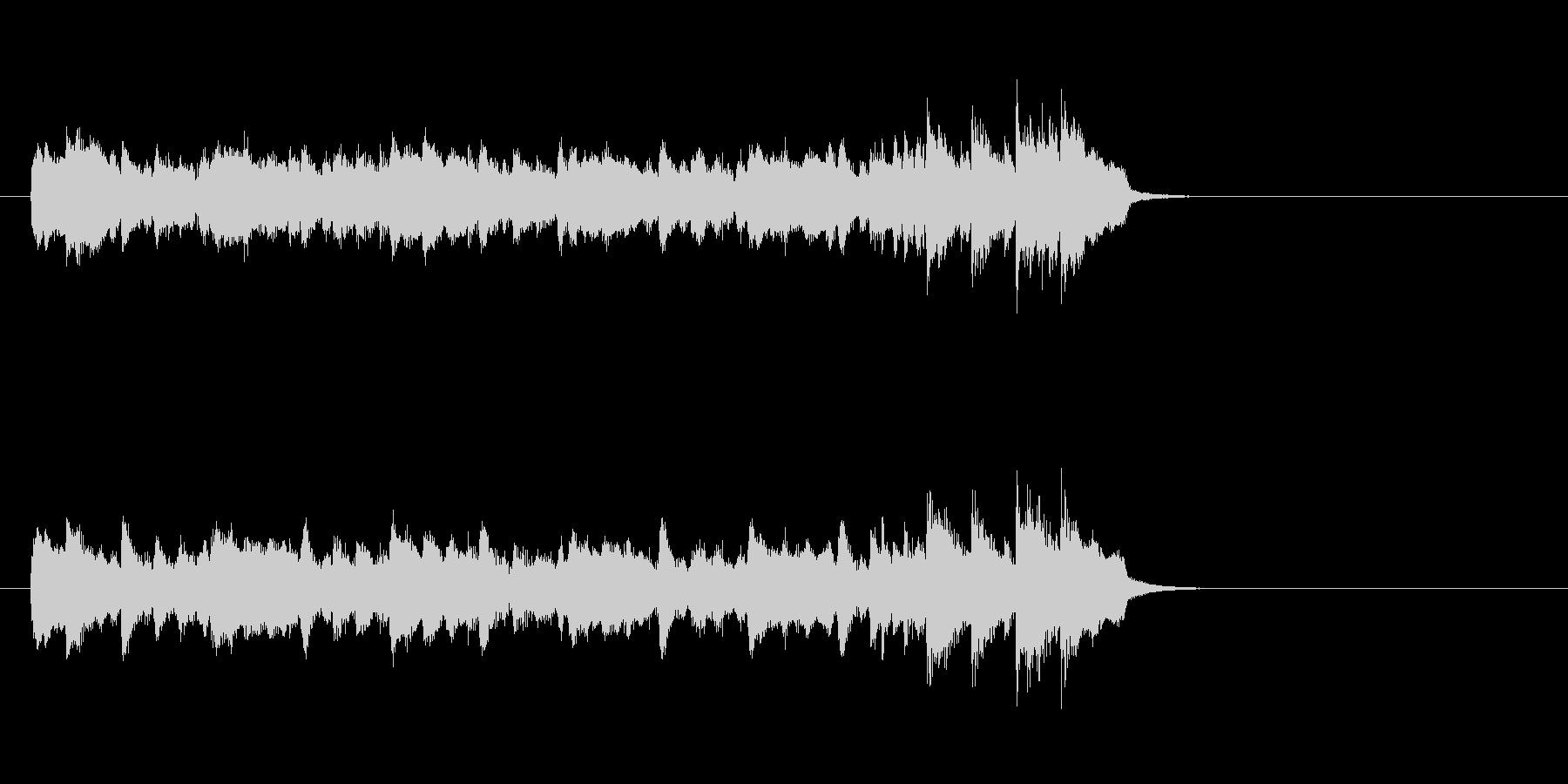ムーディーなポップス(イントロ)の未再生の波形