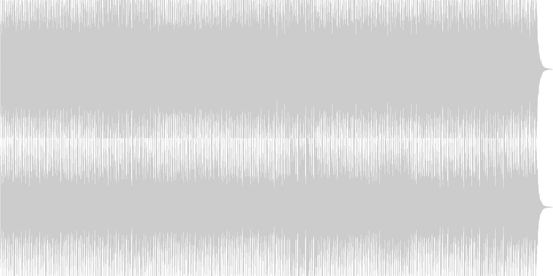 不思議/不穏の未再生の波形