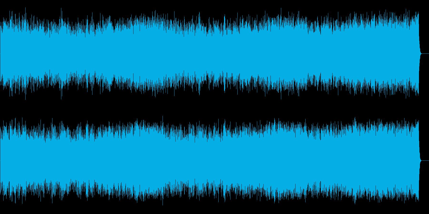 ポップ/ロック(オープニング向け)の再生済みの波形