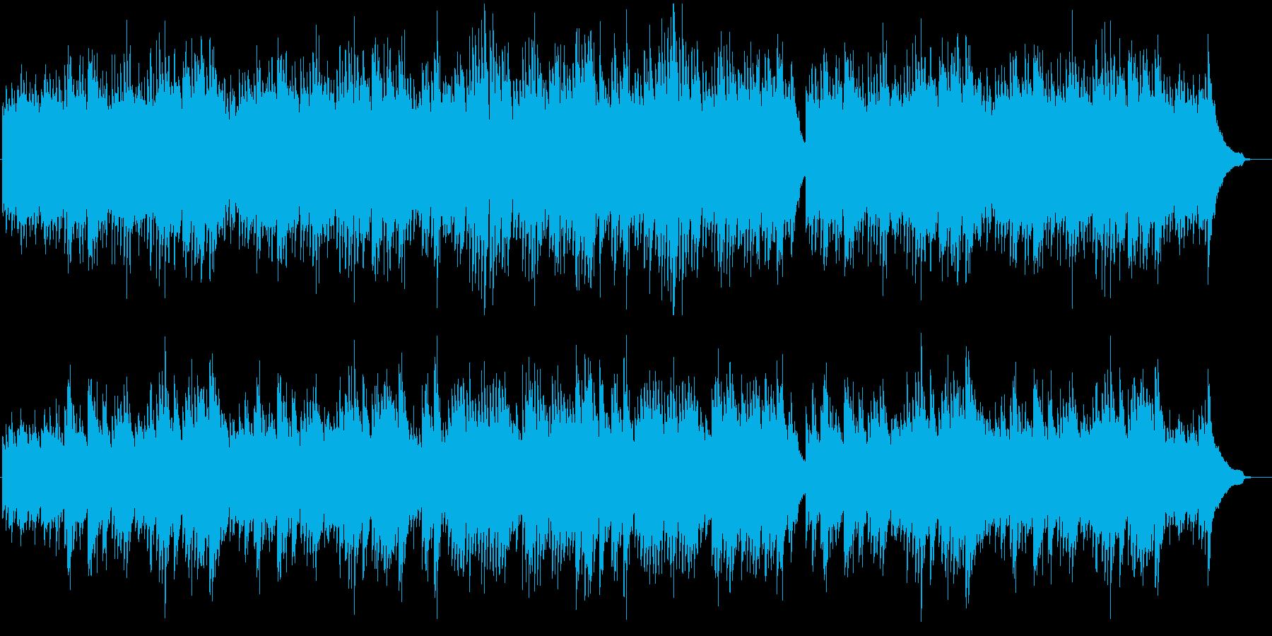 禁じられた遊びのような繊細なピアノ曲の再生済みの波形
