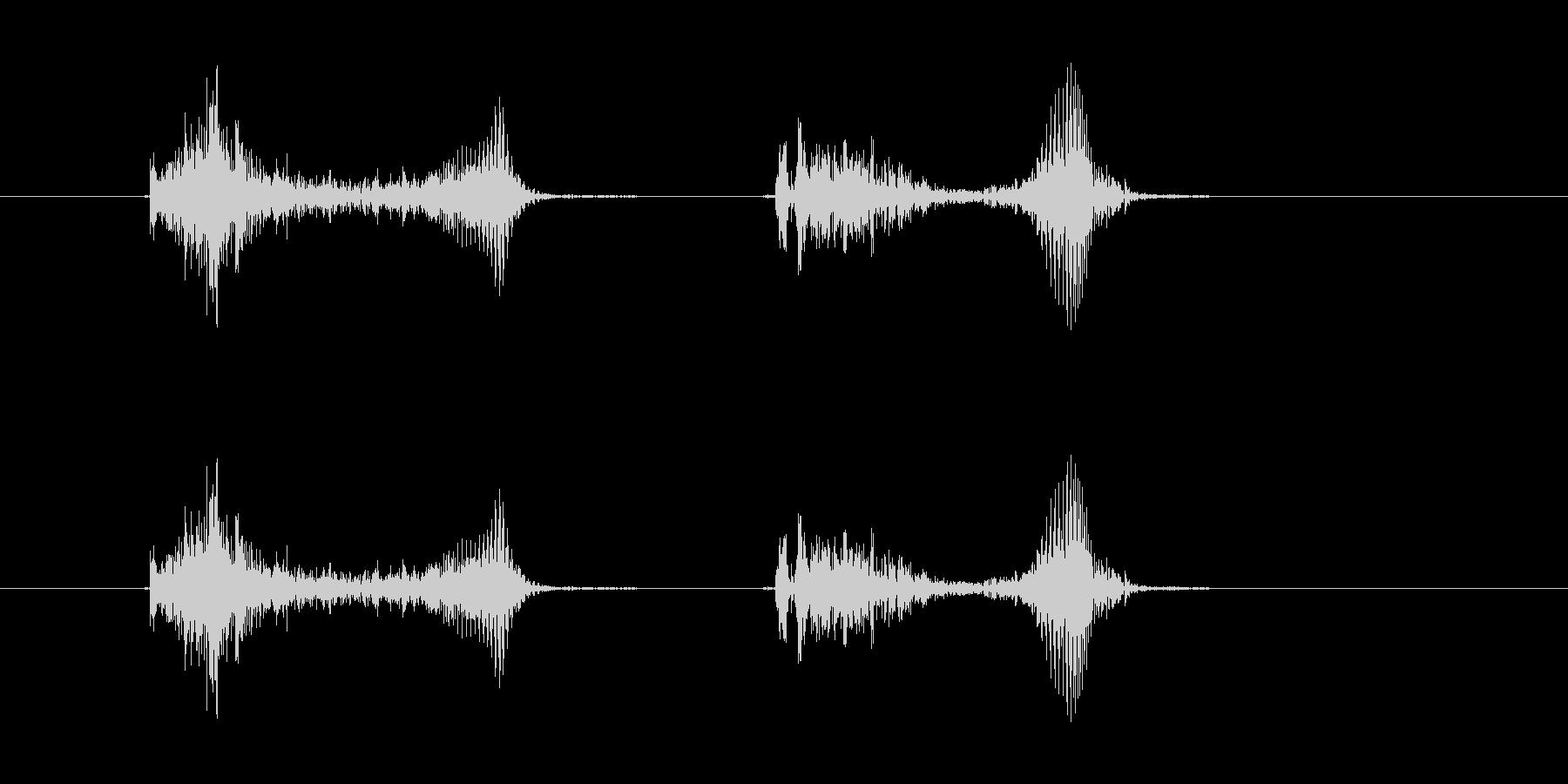 (かわいい咳_2)の未再生の波形