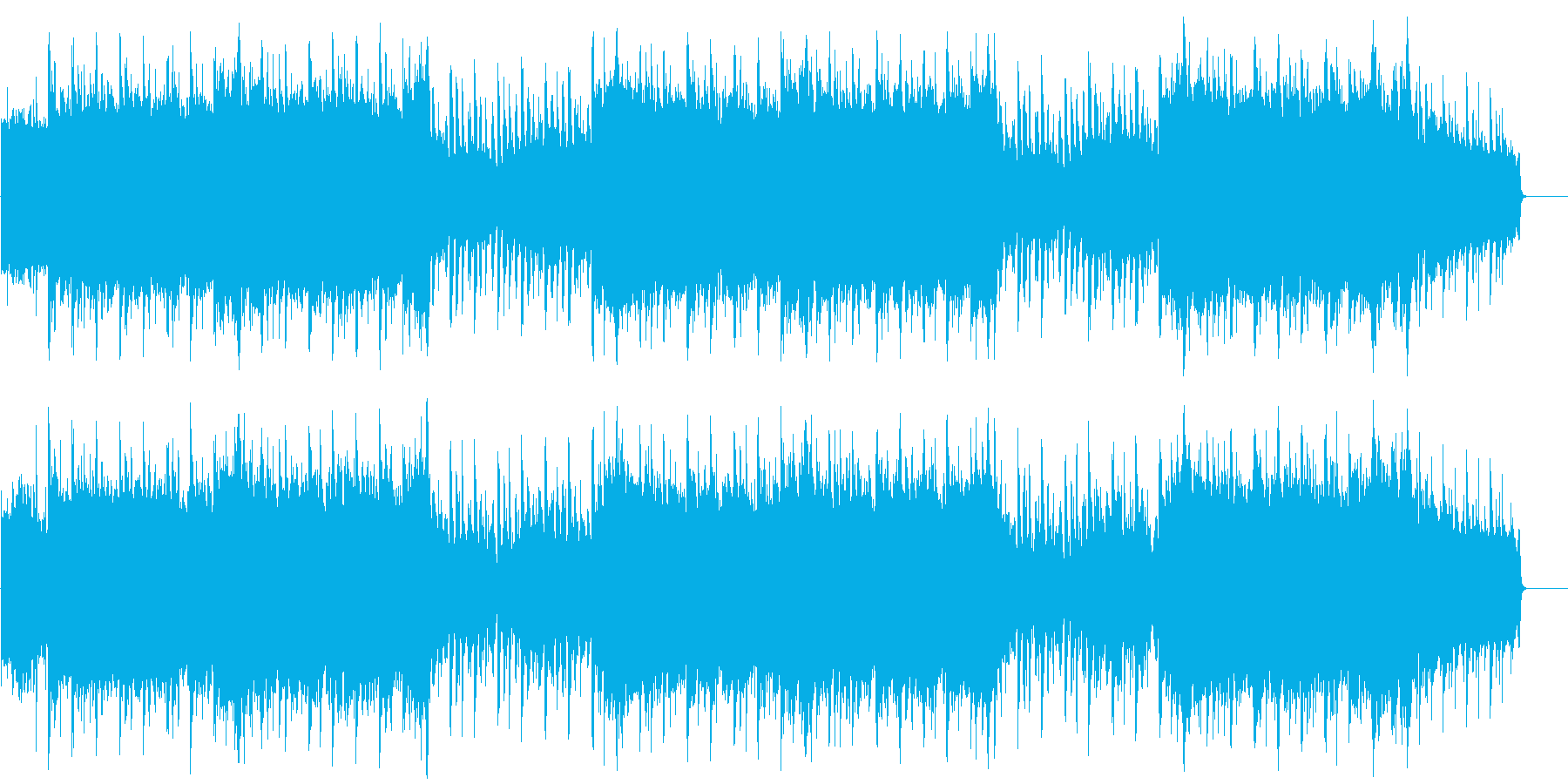 感動 ブライダル よあけ 目覚め 壮大の再生済みの波形