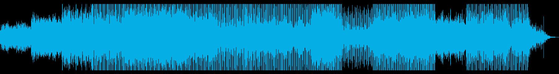 空間を漂うイメージの再生済みの波形