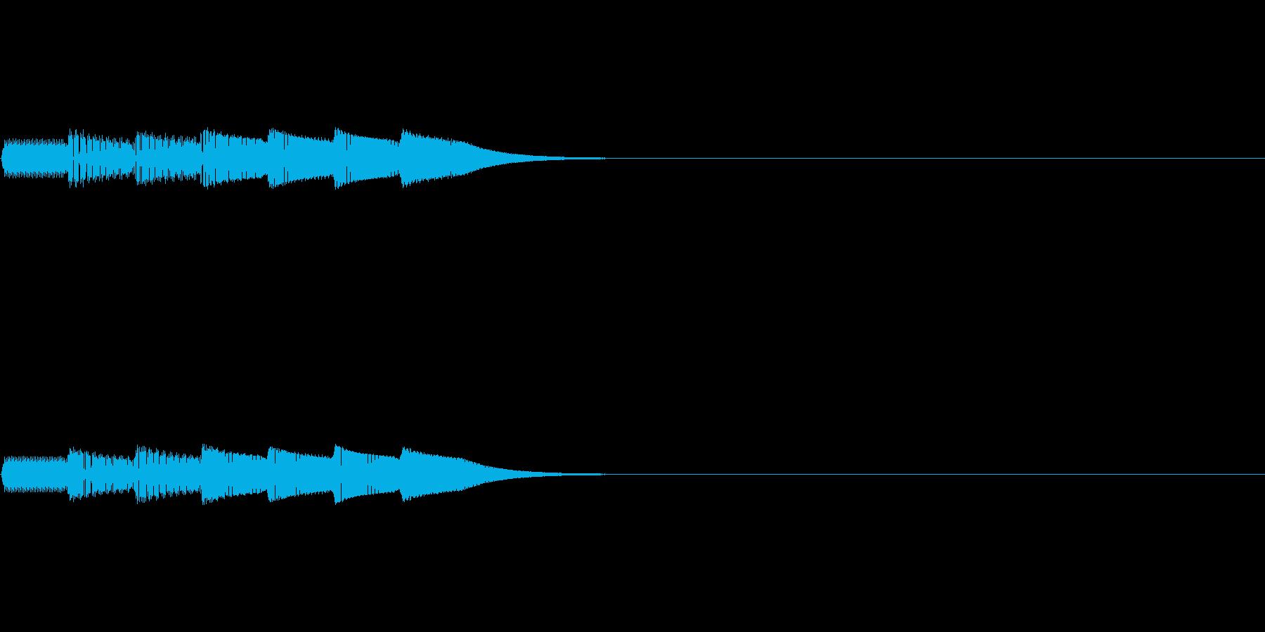 ピコピコロン(ゲーム_ポーズボタン)の再生済みの波形
