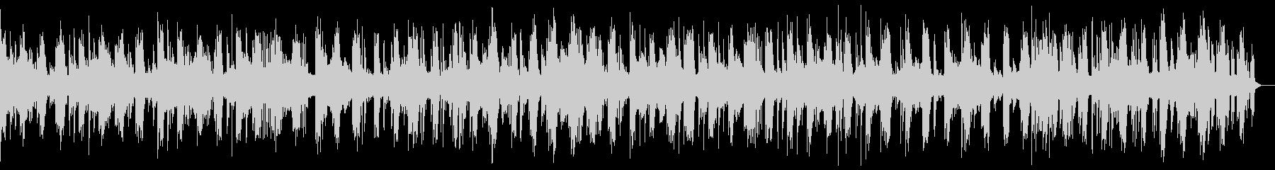 悠長で繊細なピアノヒーリングミュージックの未再生の波形