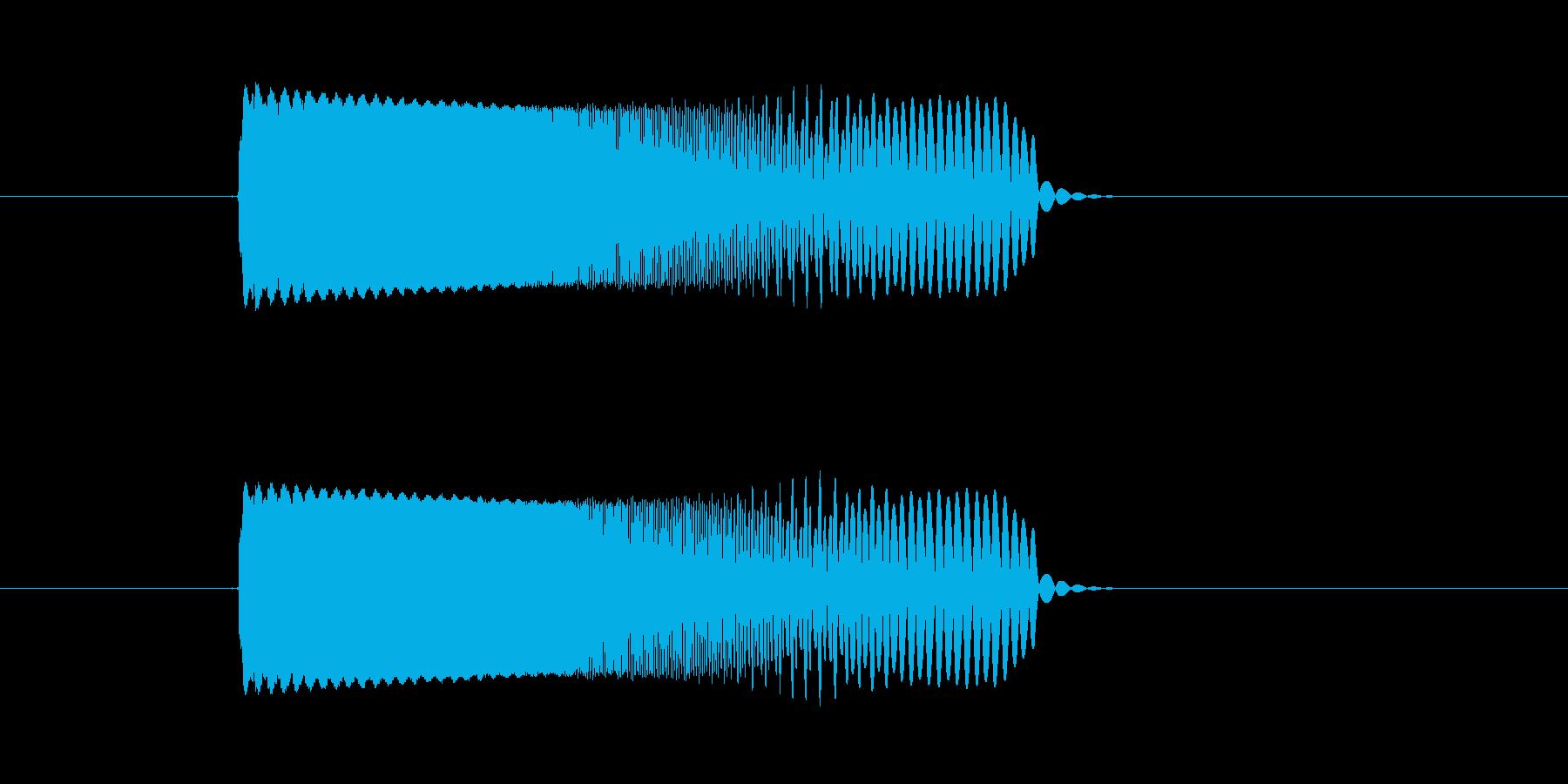 キュルキュル(宇宙、落下、回転の再生済みの波形