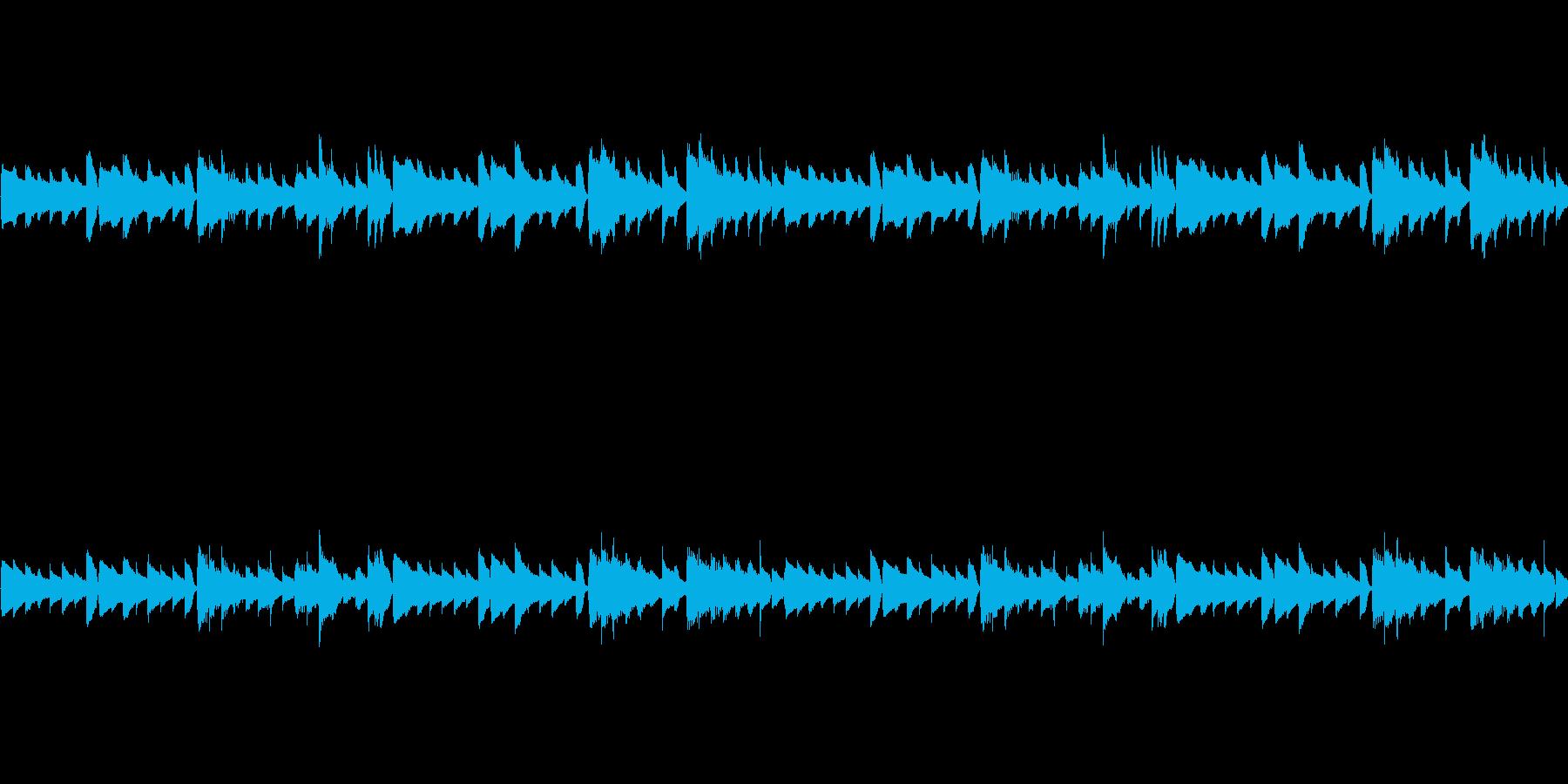 ピアノループ/ダーク/ビートサンプル#3の再生済みの波形