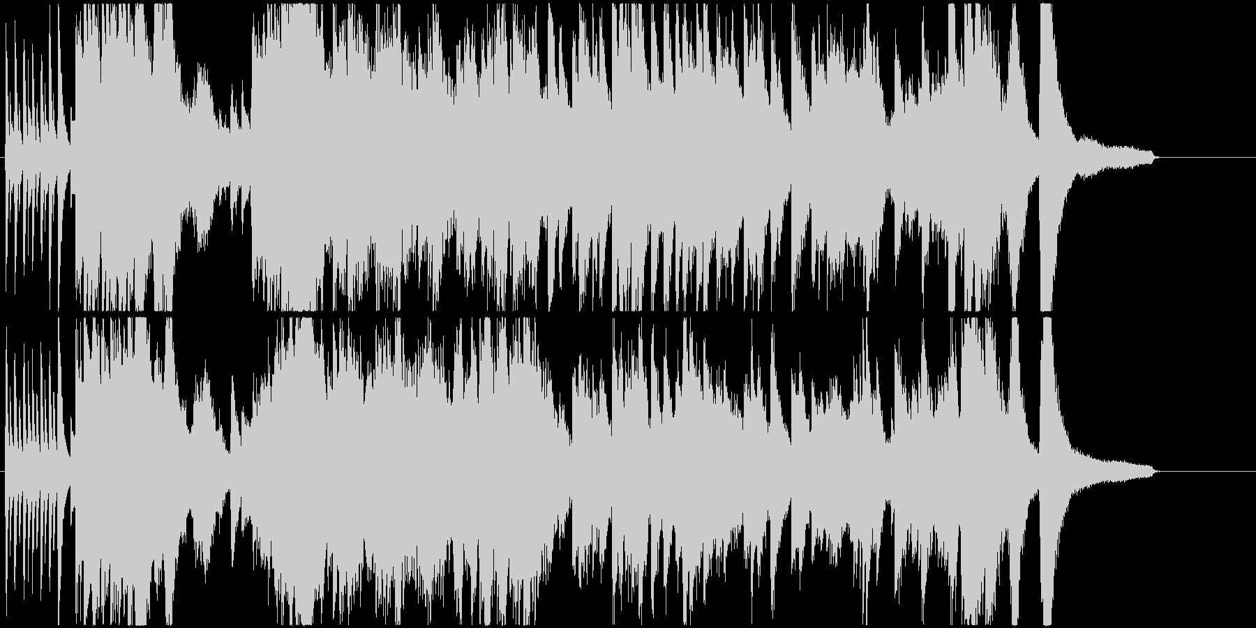 幻想的な高速ピアノソロ曲ですの未再生の波形