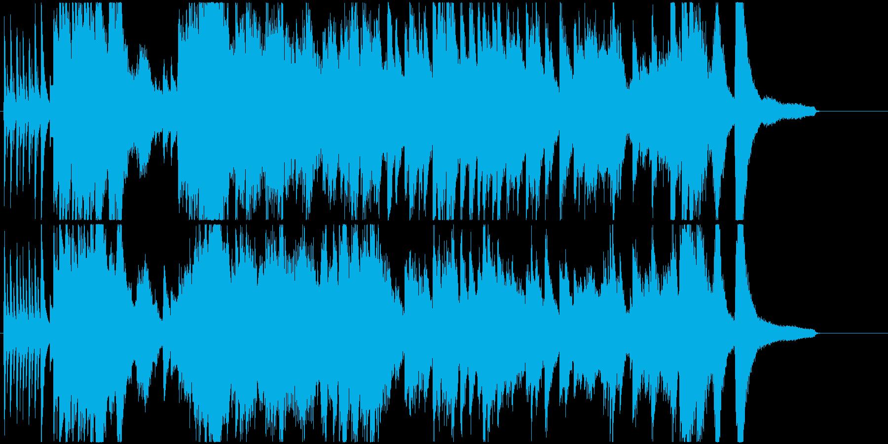 幻想的な高速ピアノソロ曲ですの再生済みの波形