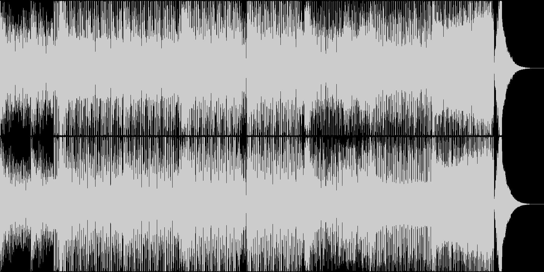 EDM ピアノ スポーツ バラエティの未再生の波形