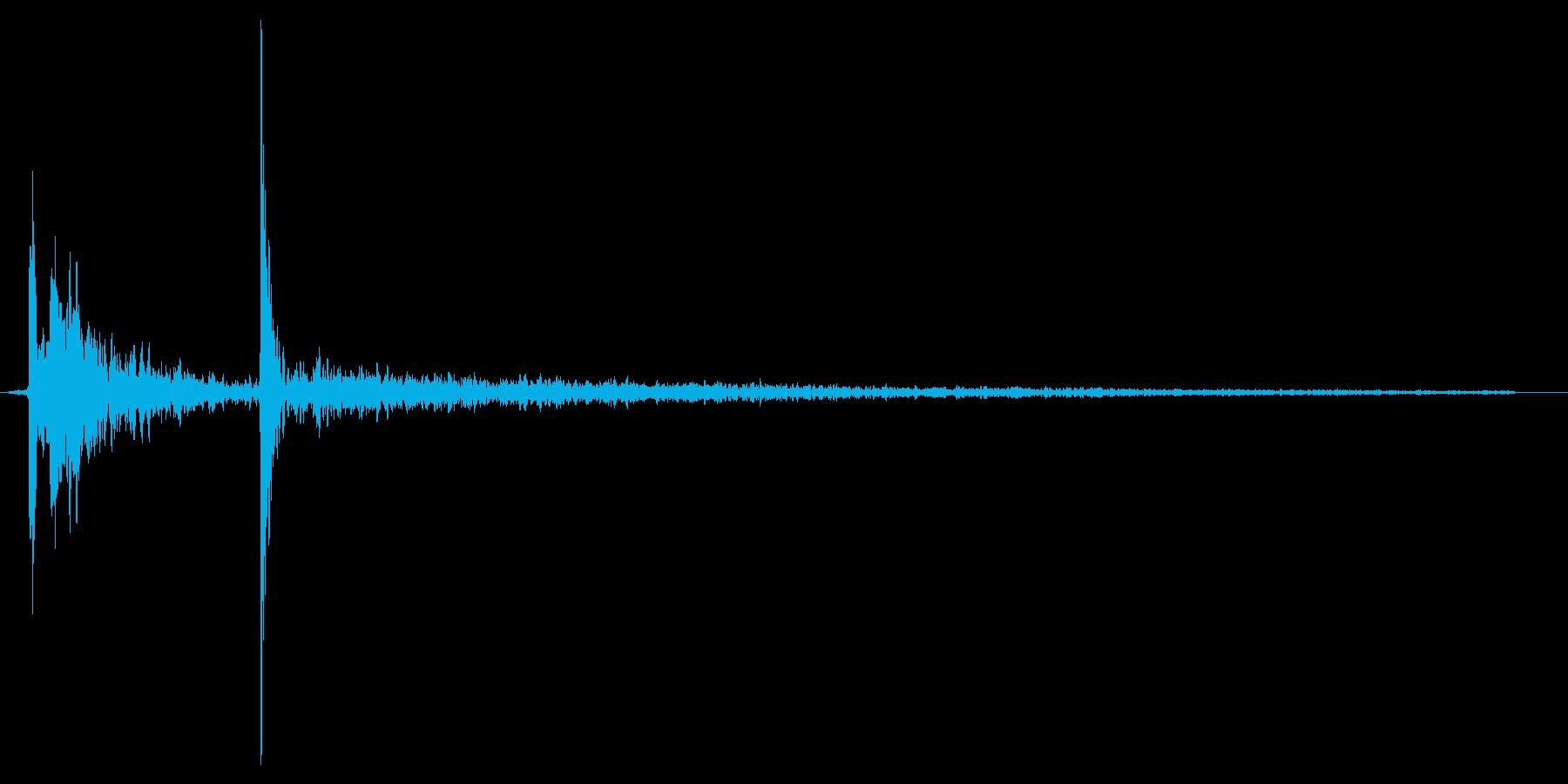 水滴、水の落ちる音です 04の再生済みの波形