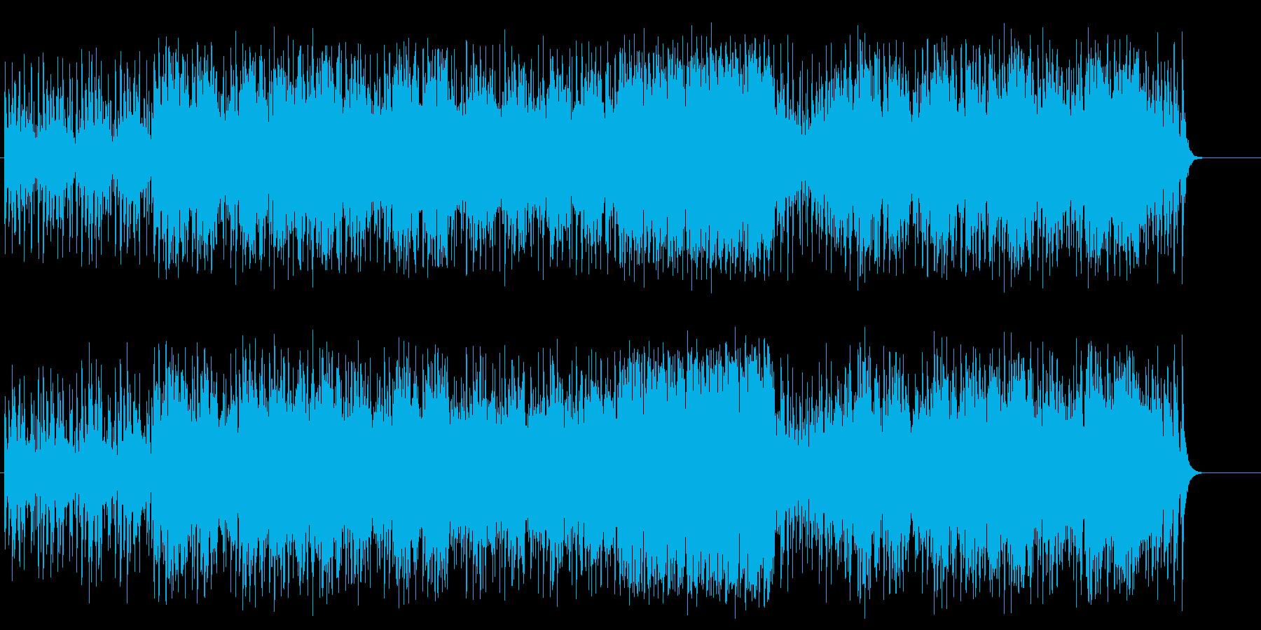 心弾む陽気な情報向けラテン系ポップスの再生済みの波形
