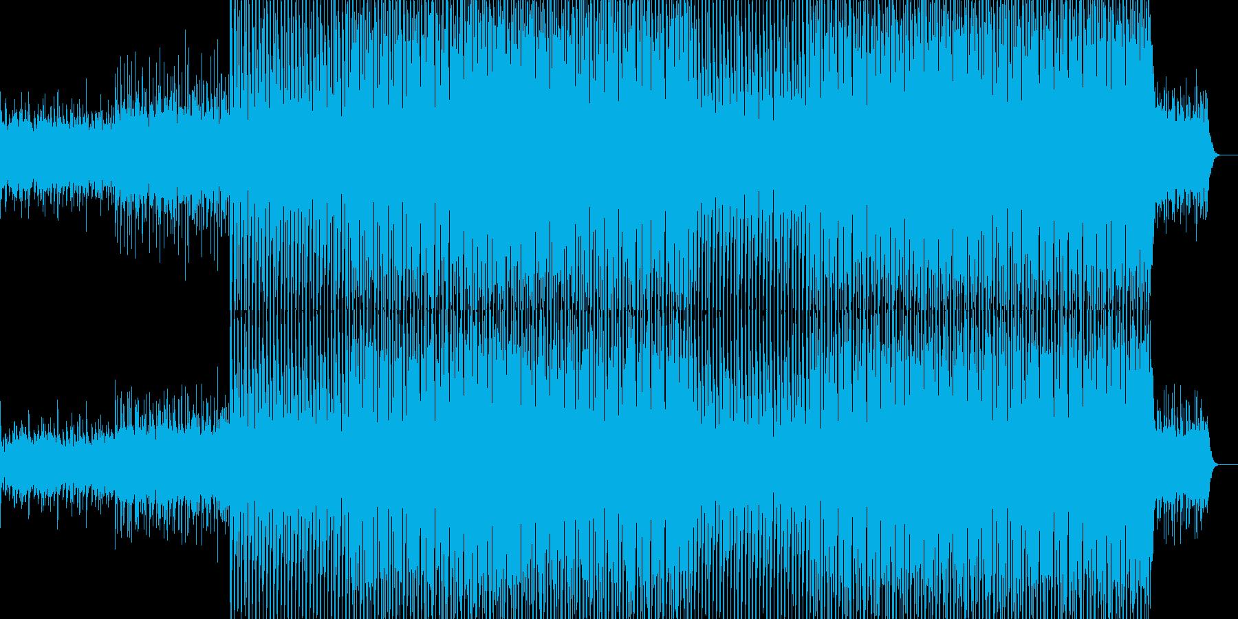 現代的で都会的なクラブ系EDM-09の再生済みの波形