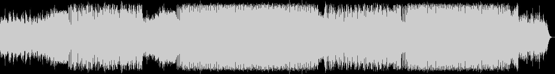 疾走感があるシンセポップハウス系EDMの未再生の波形