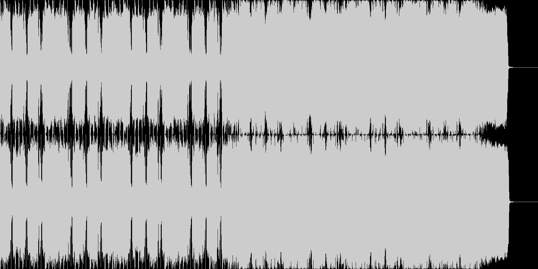 ロックンロール ジングルの未再生の波形