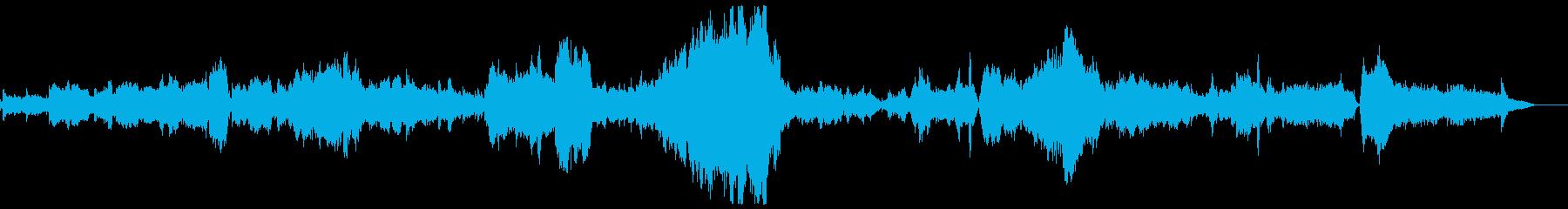 「タイスの瞑想曲」フルオーケストラカバーの再生済みの波形