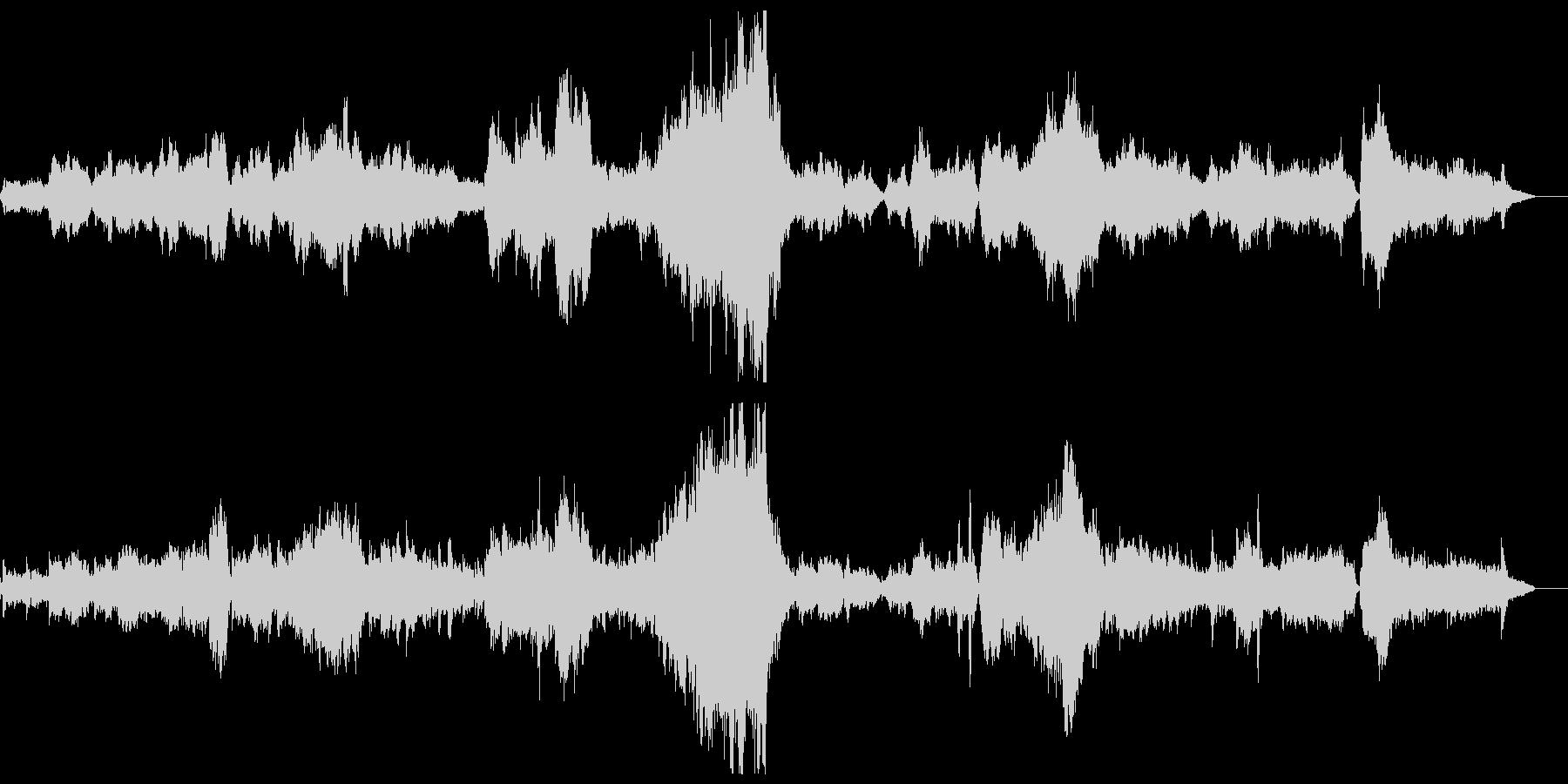 「タイスの瞑想曲」フルオーケストラカバーの未再生の波形