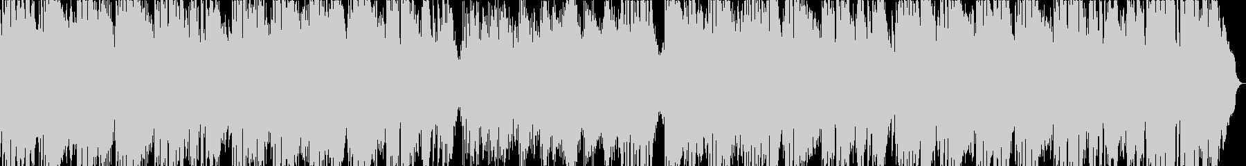 フリューゲルホルン主体のスロー曲の未再生の波形
