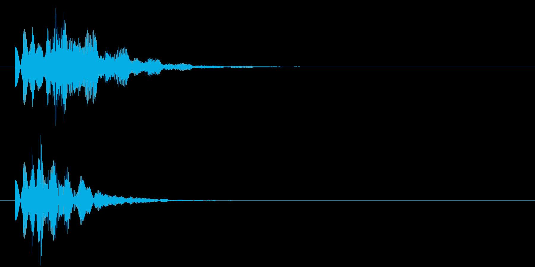 タラン1 情報 ゲット 発見 明るすぎずの再生済みの波形
