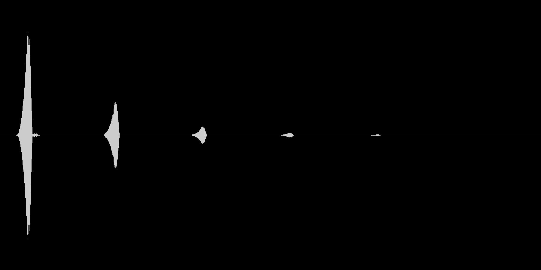 ファミコン風効果音カーソル系です 14の未再生の波形