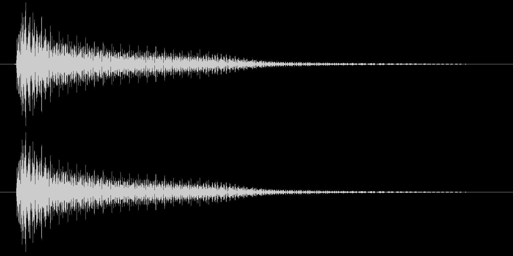ビーム(ゲーム、アプリ)の未再生の波形
