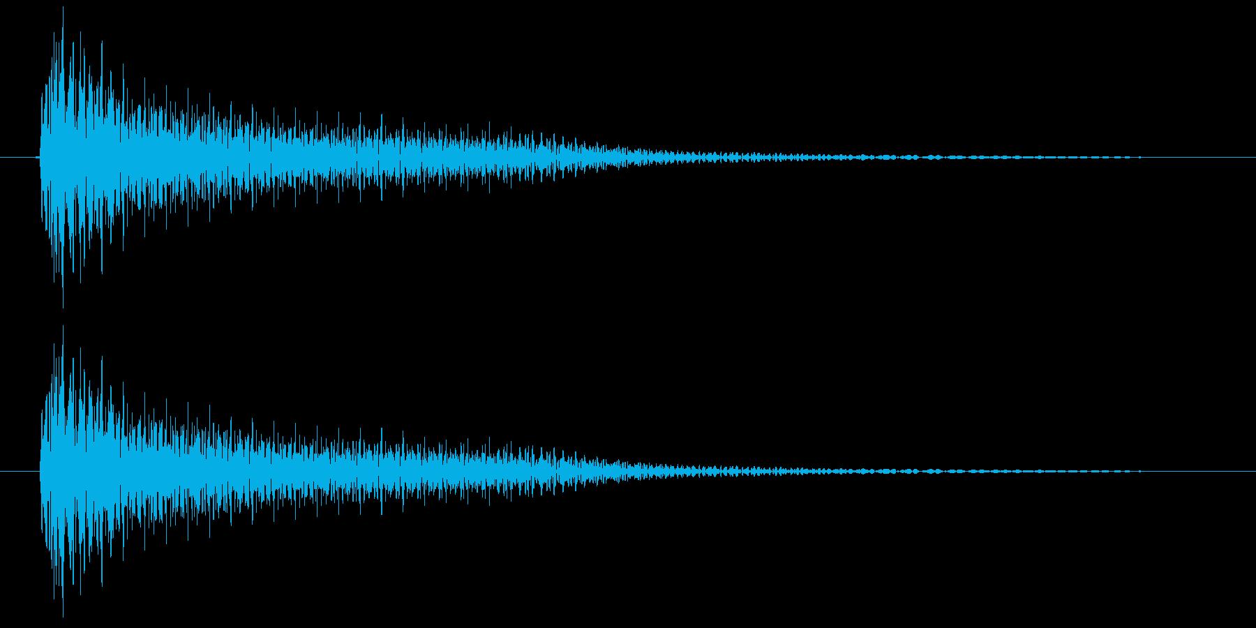 ビーム(ゲーム、アプリ)の再生済みの波形