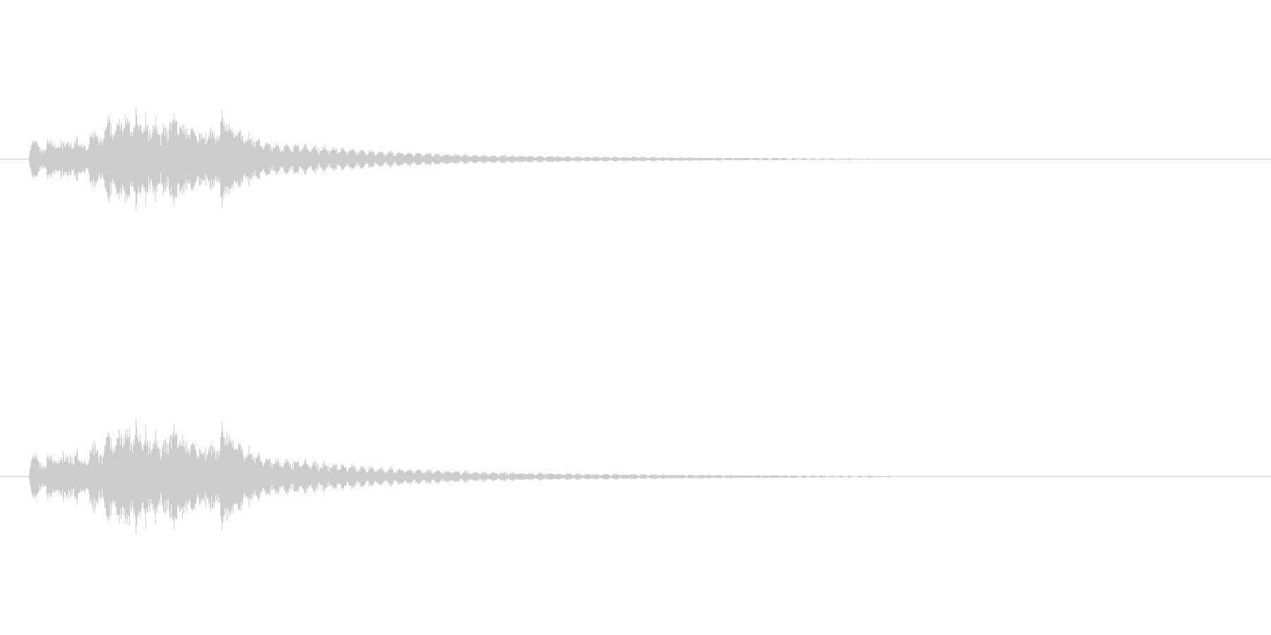 琴のグリス2 (和を演出)の未再生の波形