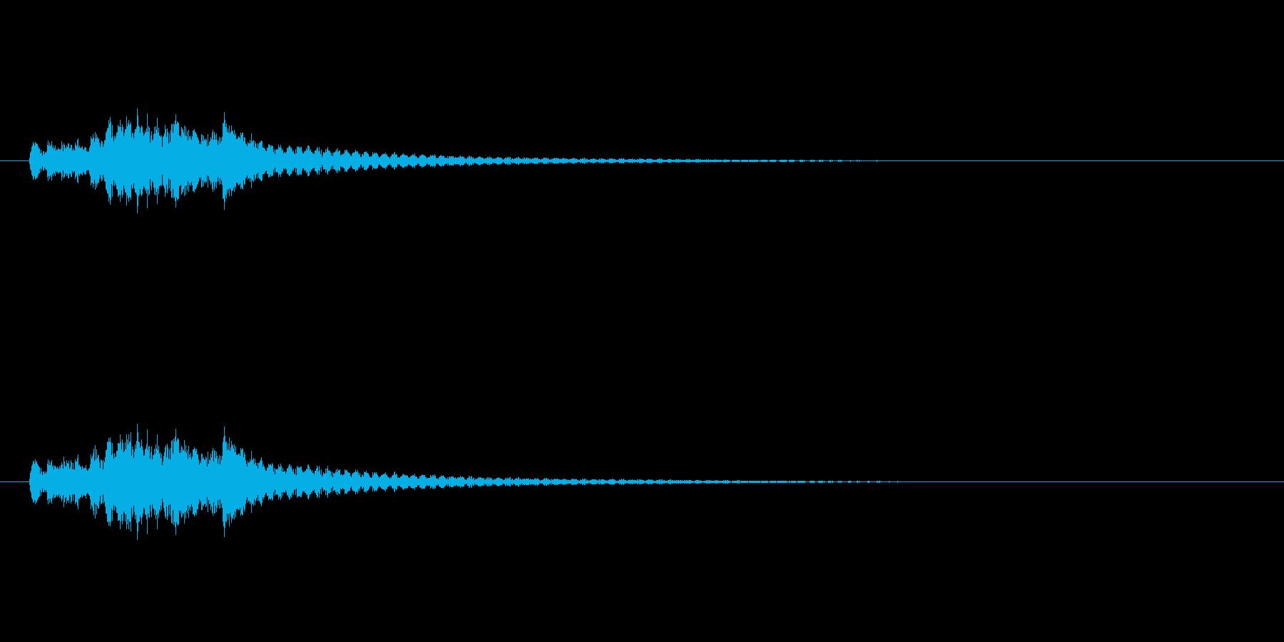 琴のグリス2 (和を演出)の再生済みの波形