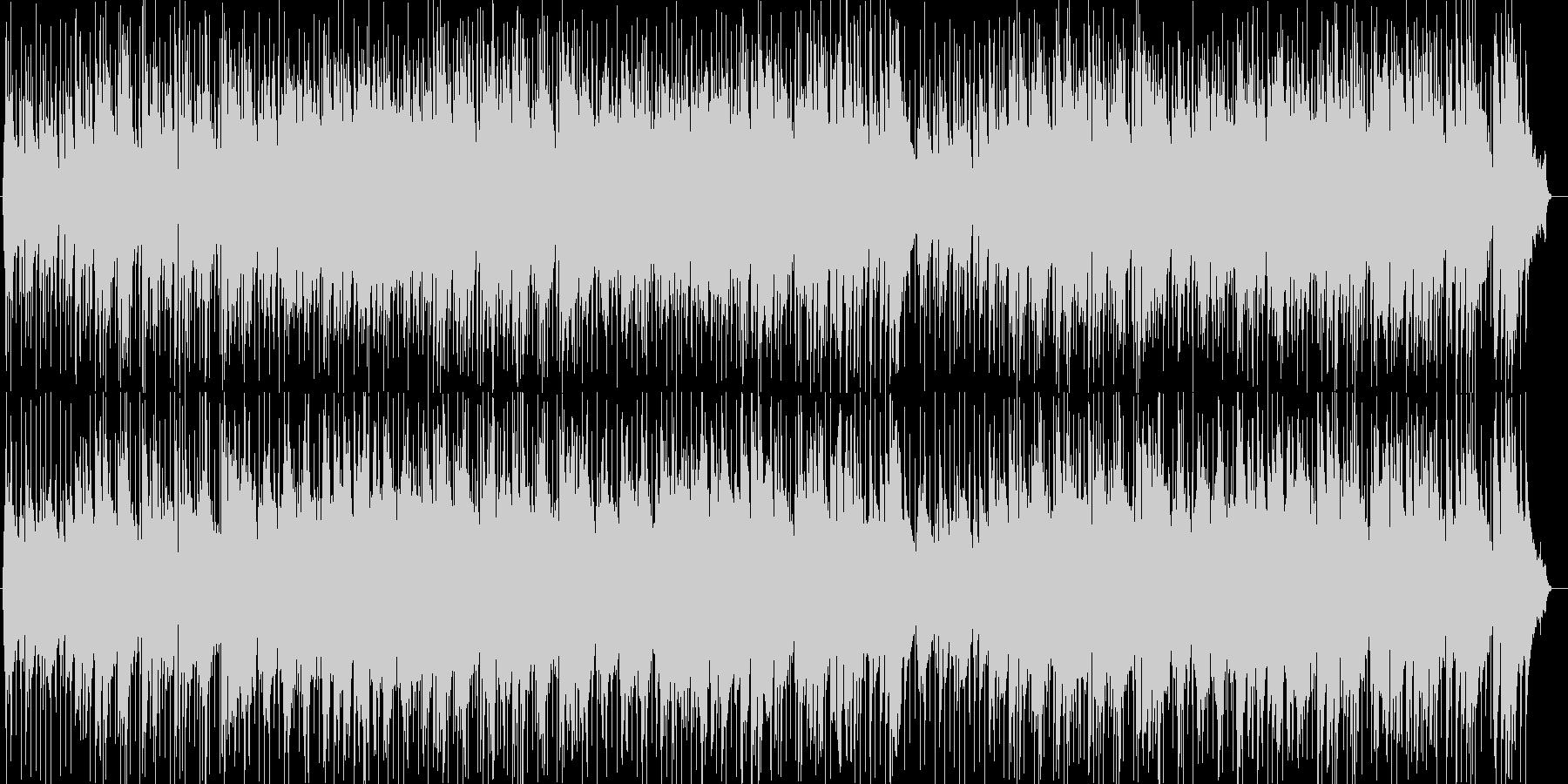 ドライブBGM風シンセサイザー曲の未再生の波形