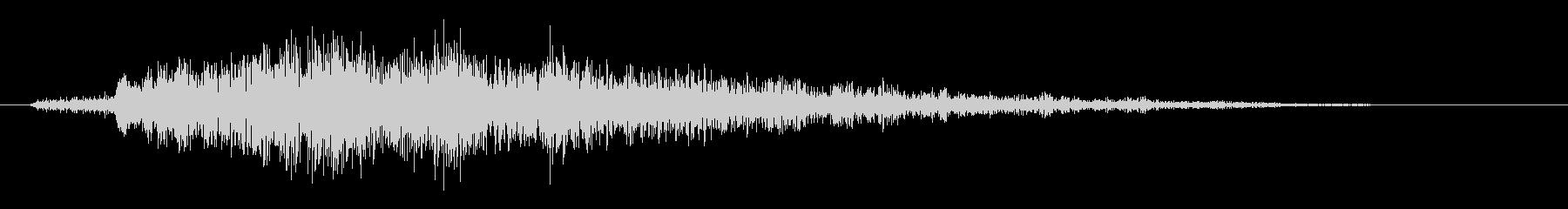 ポップアップ_決定音系_05の未再生の波形