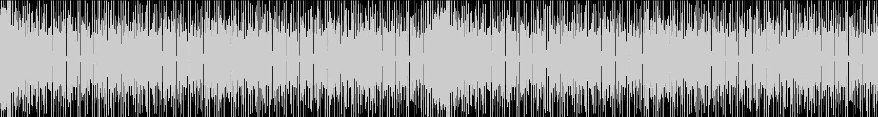 ハウスミュージック (Loop仕様)の未再生の波形