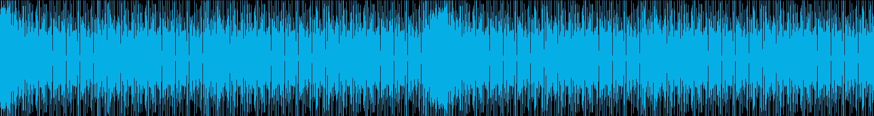 ハウスミュージック (Loop仕様)の再生済みの波形