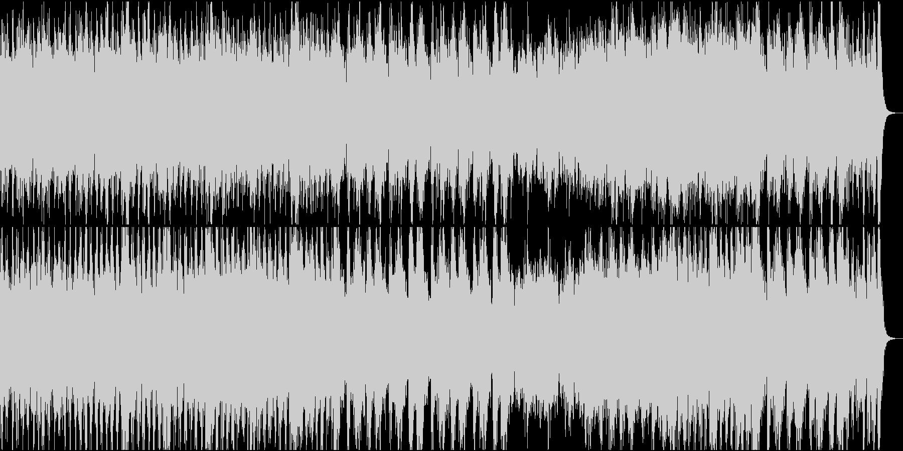 和風オーケストラ日本の祭③三味線なしの未再生の波形