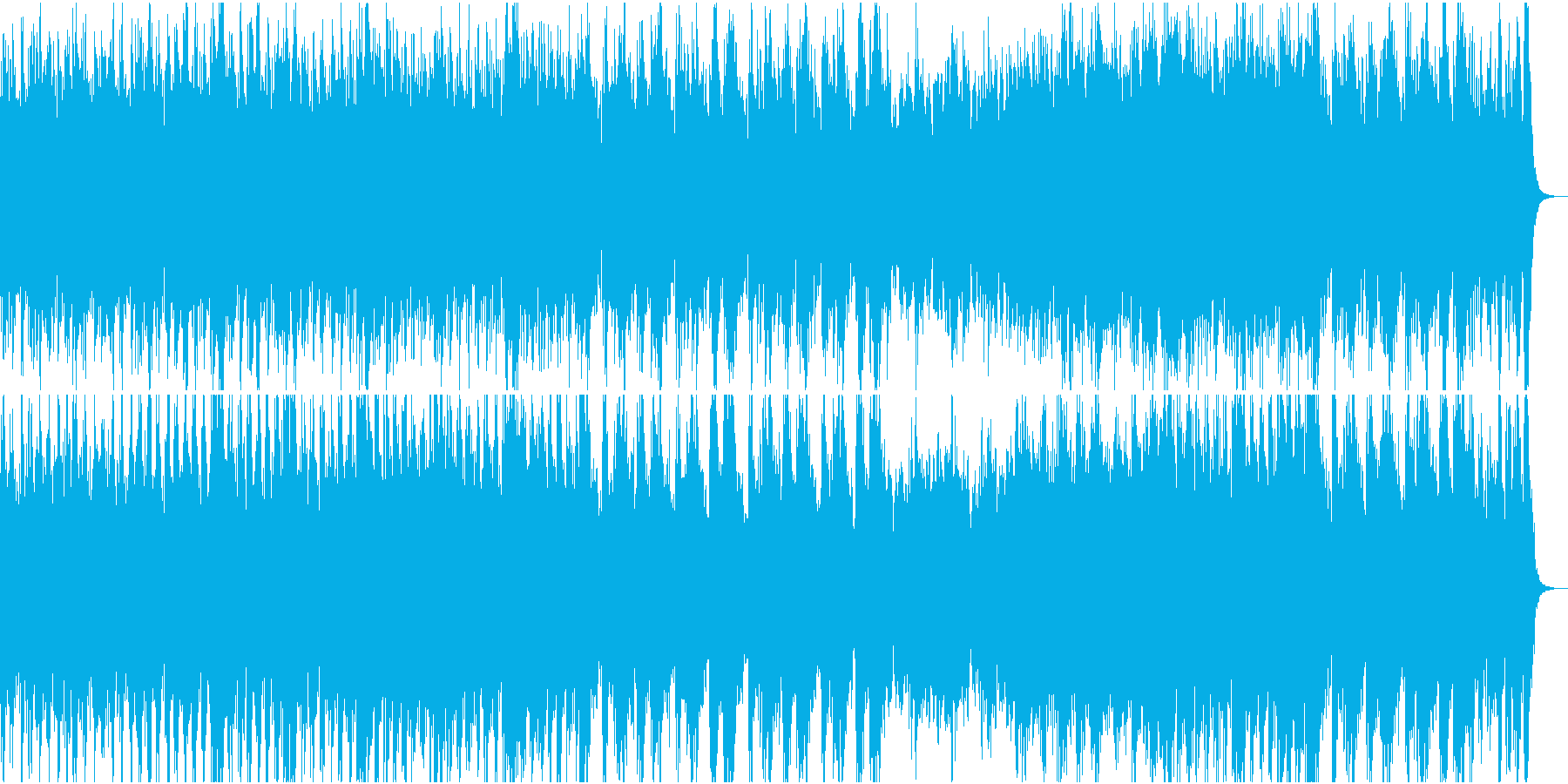 和風オーケストラ日本の祭③三味線なしの再生済みの波形