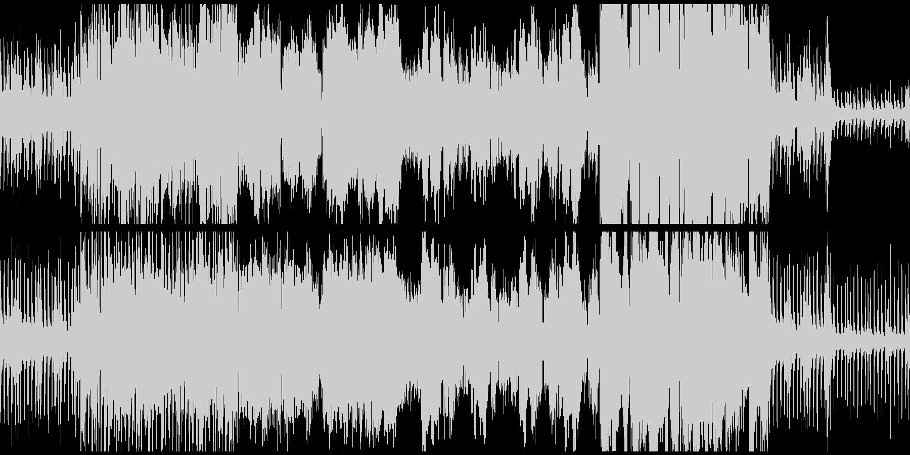 ゲームフィールドに合いそうな曲ループ版の未再生の波形